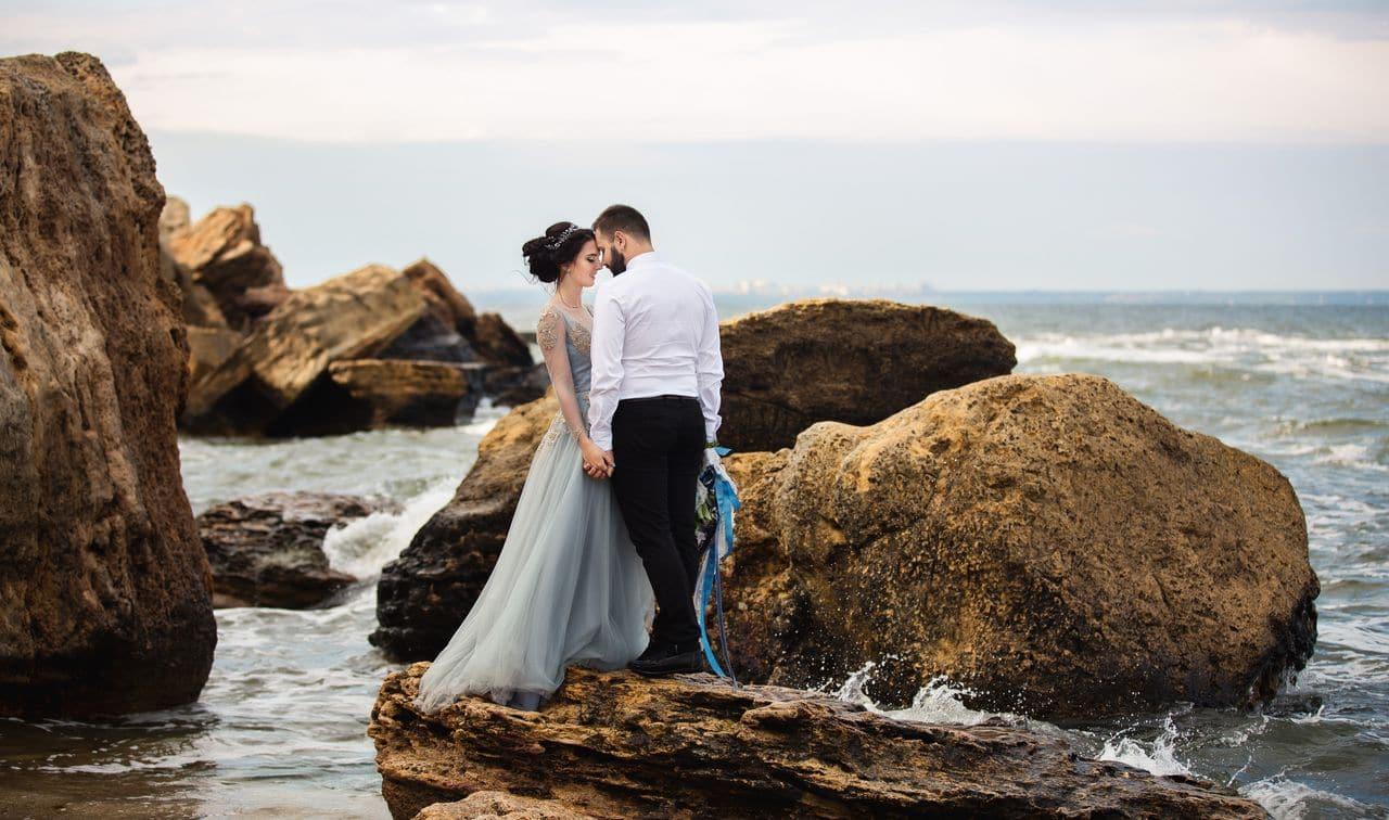 Hochzeit im Wasser