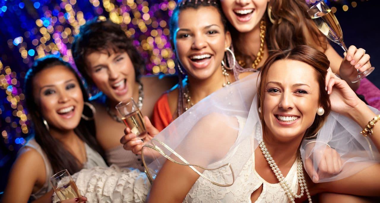 Jungeselinnenabschied mit Party