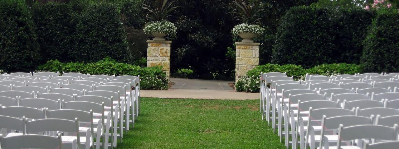 Hochzeitsfeier im Freien