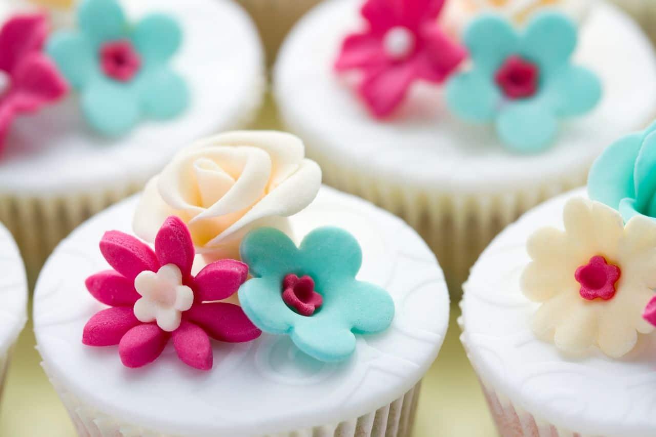 Cupcake mit Dekoration