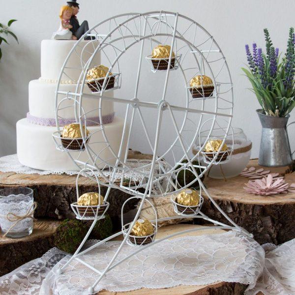 cupcake riesenrad candy bar