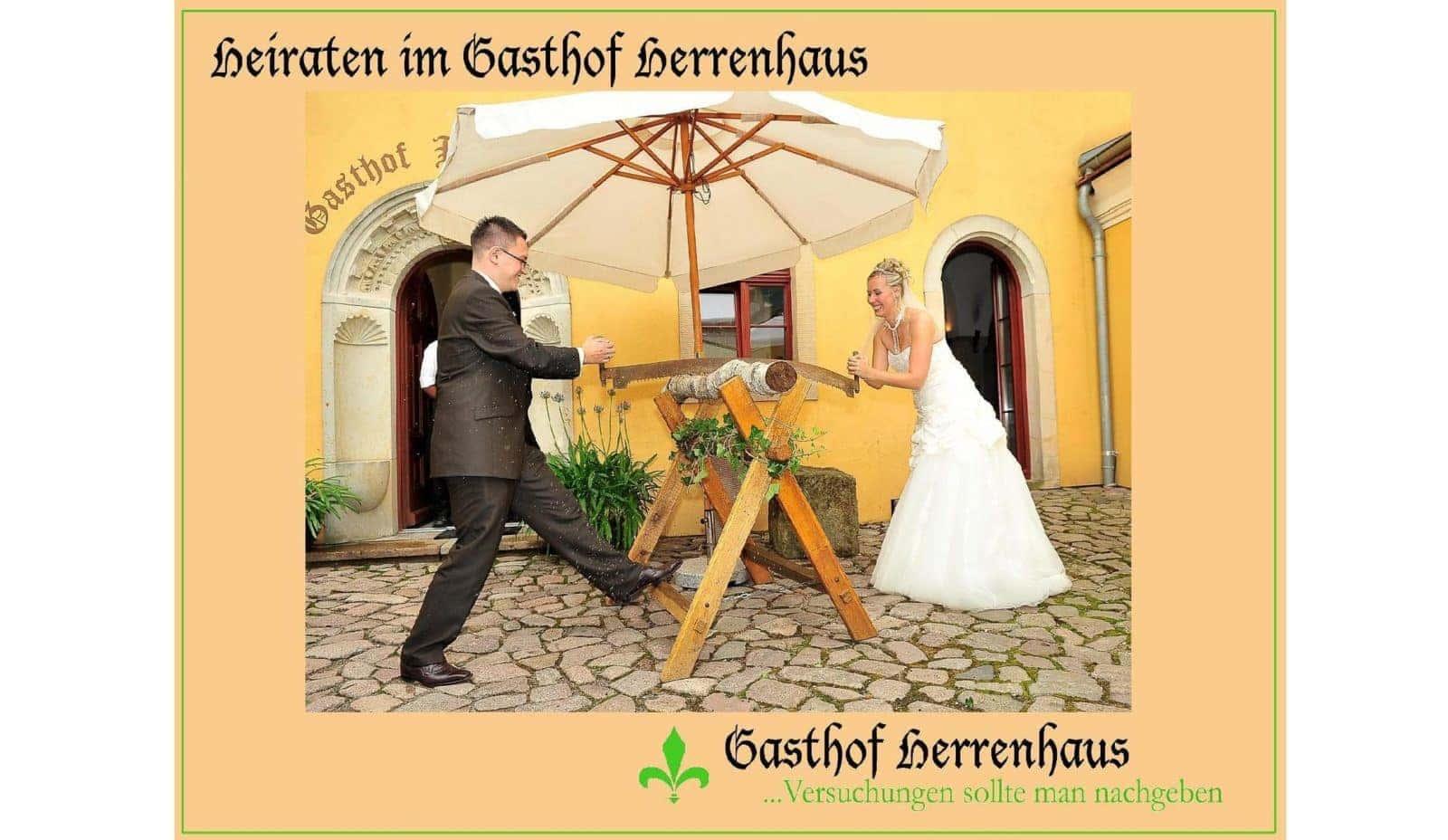 Hochzeit im Gasthof Herrenhaus in Dresden - Hochzeiten & Feiern