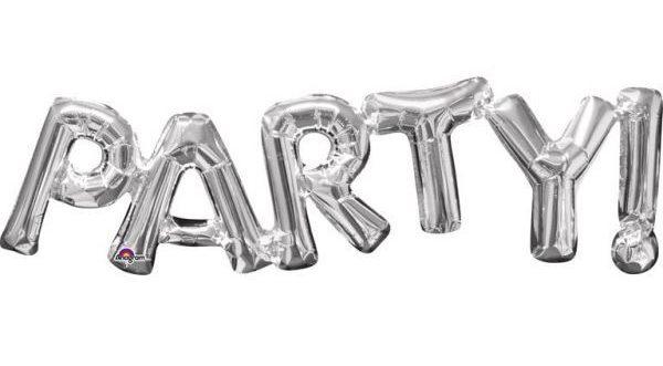 folienballon-party-silber