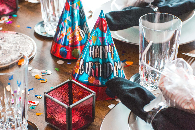 Partydekoration für einen Geburtstag