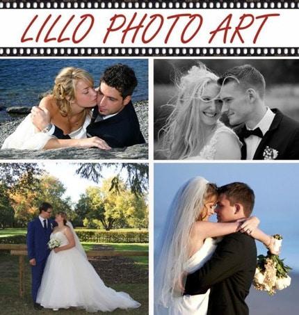 Traumhafte Hochzeitsfotos auf stilvolle Art in Szene gesetzt