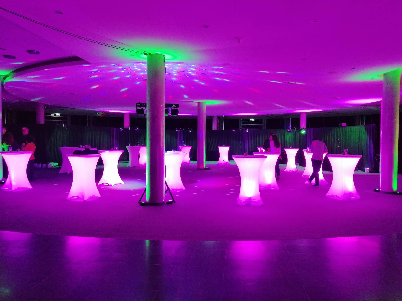 Lichtdekoration für Ihre Hochzeit im Raum Mannheim in